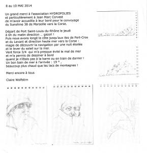 Hydrofolies carnet de bord 2014
