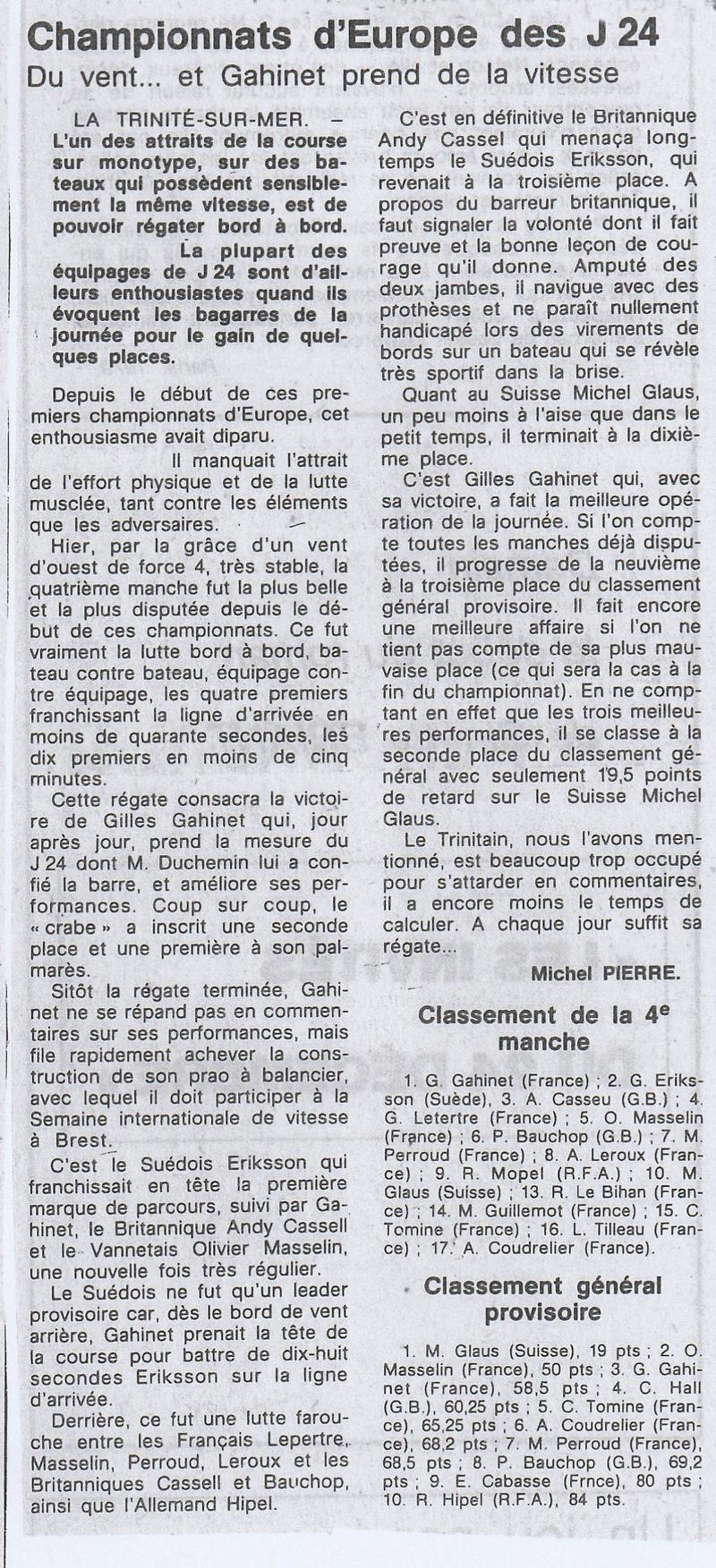 """Article sur la participation d""""Hydrofolies aux championnats d'Europs"""